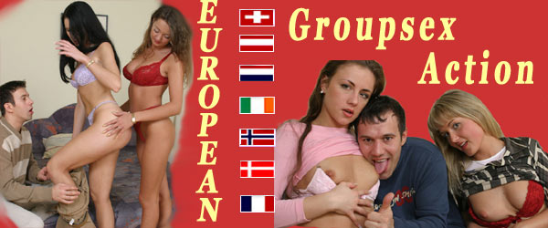 European group sex action. Cool  hardcore!